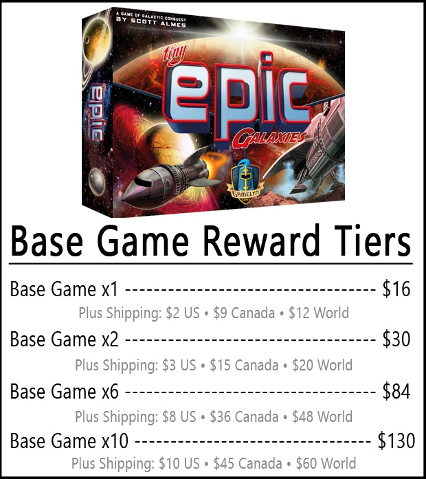Base Games Only Include Base Game Stretch Goals