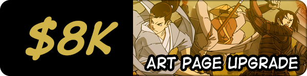 4 additional bonus art pages - 7 pages in total of extra illustrations by the series' artist!