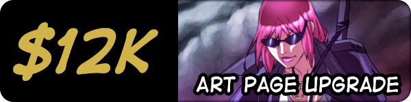 4 additional bonus art pages - 11 pages in total!