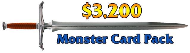 Monster Card Pack!