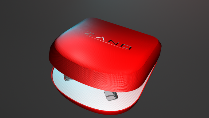 Limited Edition Red Carry Case