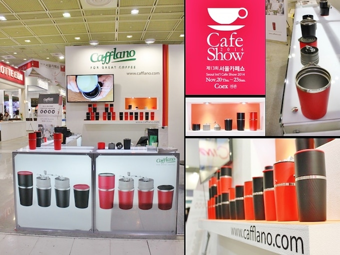 [Pic 6] Cafflano® Klassic Booth at Seoul Cafe Show 2014