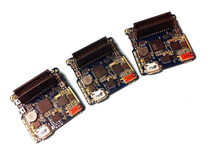 Prototype V1 PCBs, 35mm x 35mm