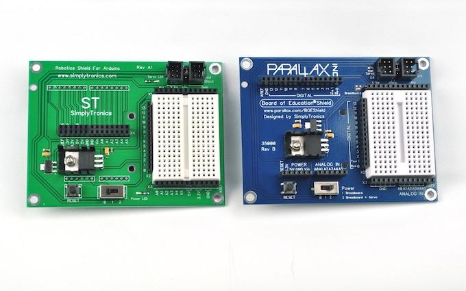 Open Source Robotics/Microelectronics Educational Board by Ari