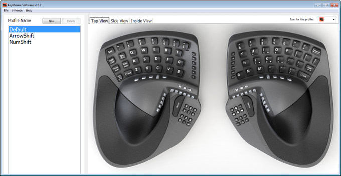 KeyMouse™ - The Keyboard and Mouse Re-invented! by KeyMouse