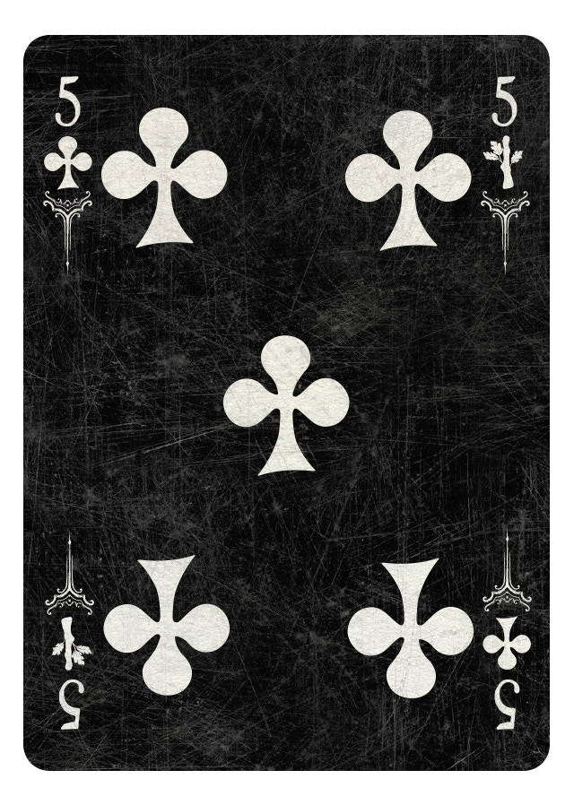 5 of Clubs/Wands dark