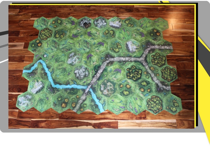 TERRATiles: A Tabletop Terrain System by Heath and Seth