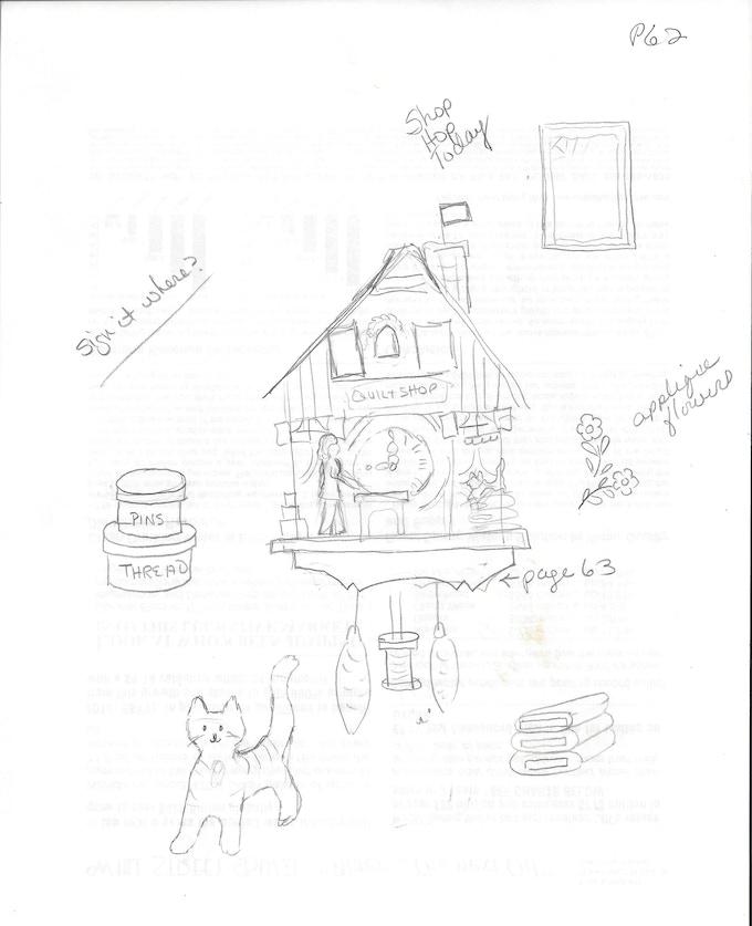 Quilt Shop Cuckoo Clock by Jodie Davis — Kickstarter