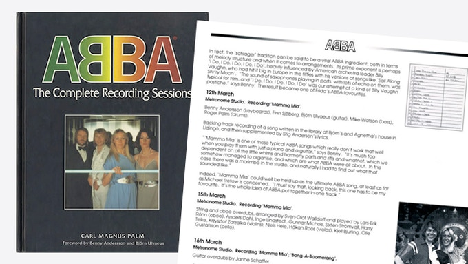 Original edition of ABBA – The Complete Recording Sessions.