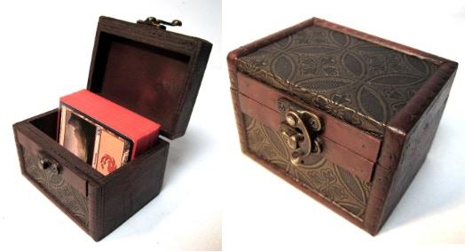 Deck Box - S02 (Internal dimensions: 7cm x 9.5cm x 6.5cm)