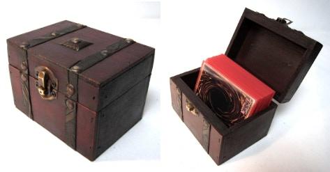 Deck Box - S03 (Internal dimensions: 7cm x 9.5cm x 6.5cm)