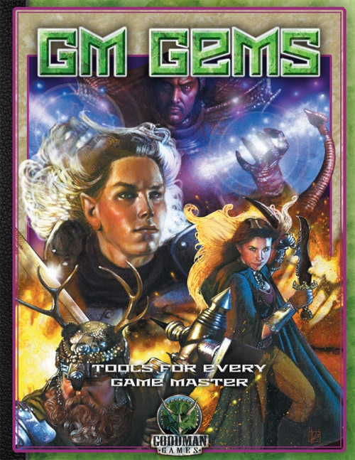 Cover art for 2nd printing of GM Gems, by Laura Lakey