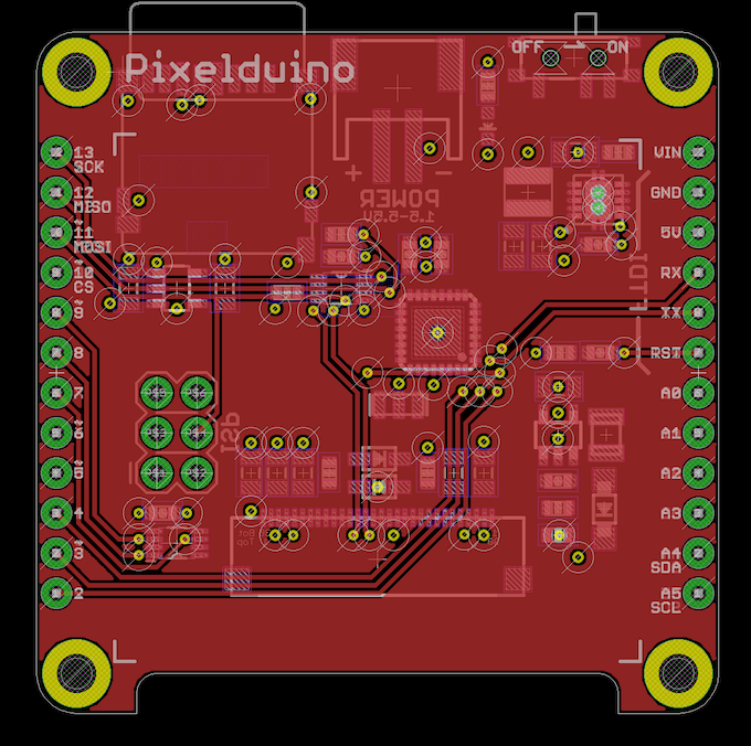 The Pixelduino - An Arduino with an awesome OLED display! by Rabid