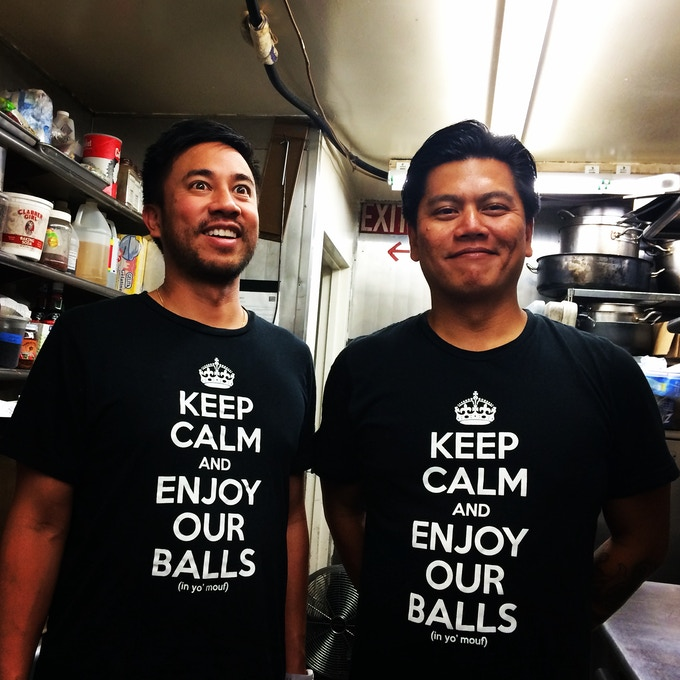 Get your mind outta the gutter, we're talking about our Crispy Tofu Balls OF COURSE!
