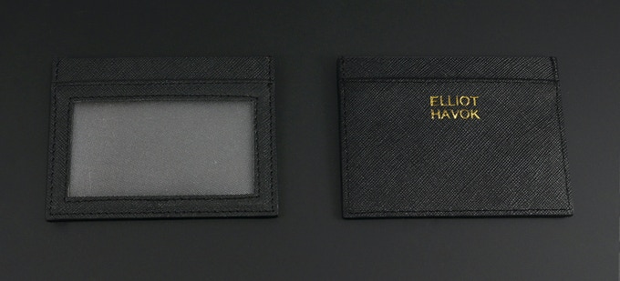 Havok Sets include a minimalist wallet / ID holder