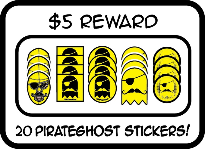 5 pledge reward