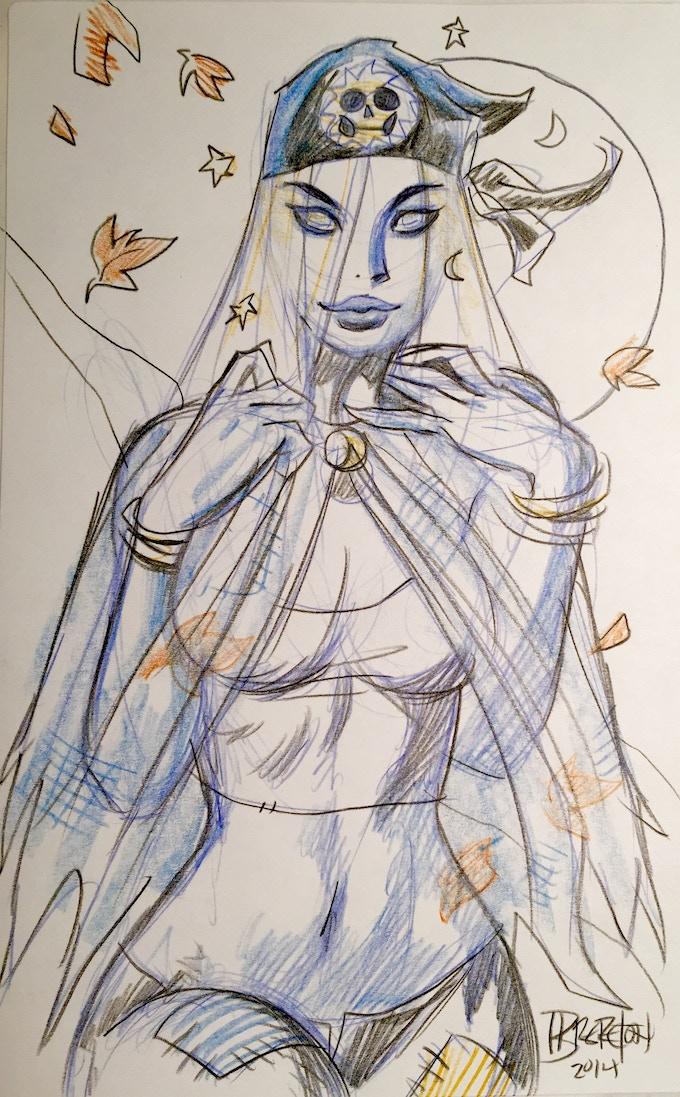 Example of Pencil Sketch #1