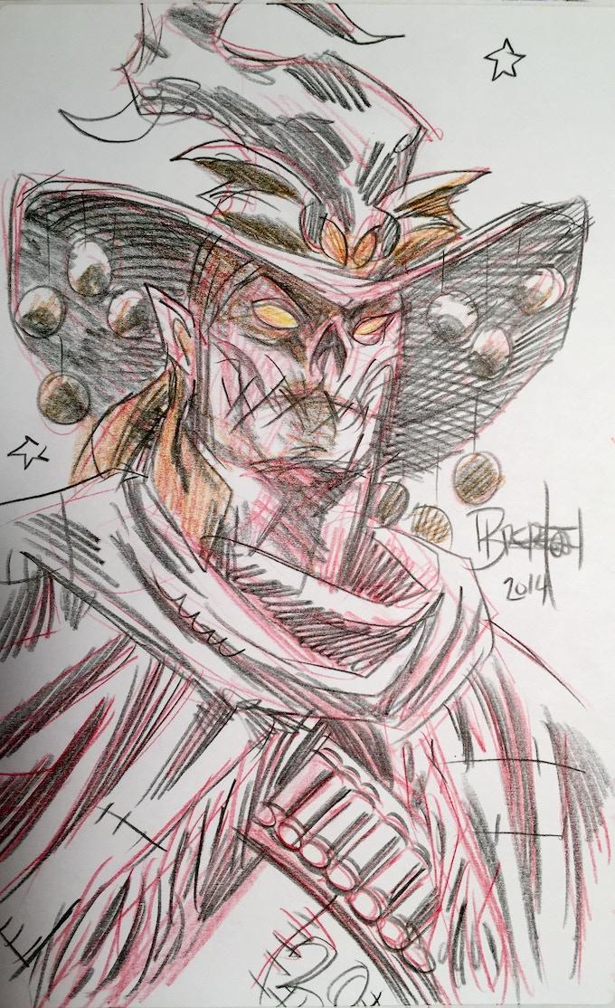 Example of Pencil Sketch #2