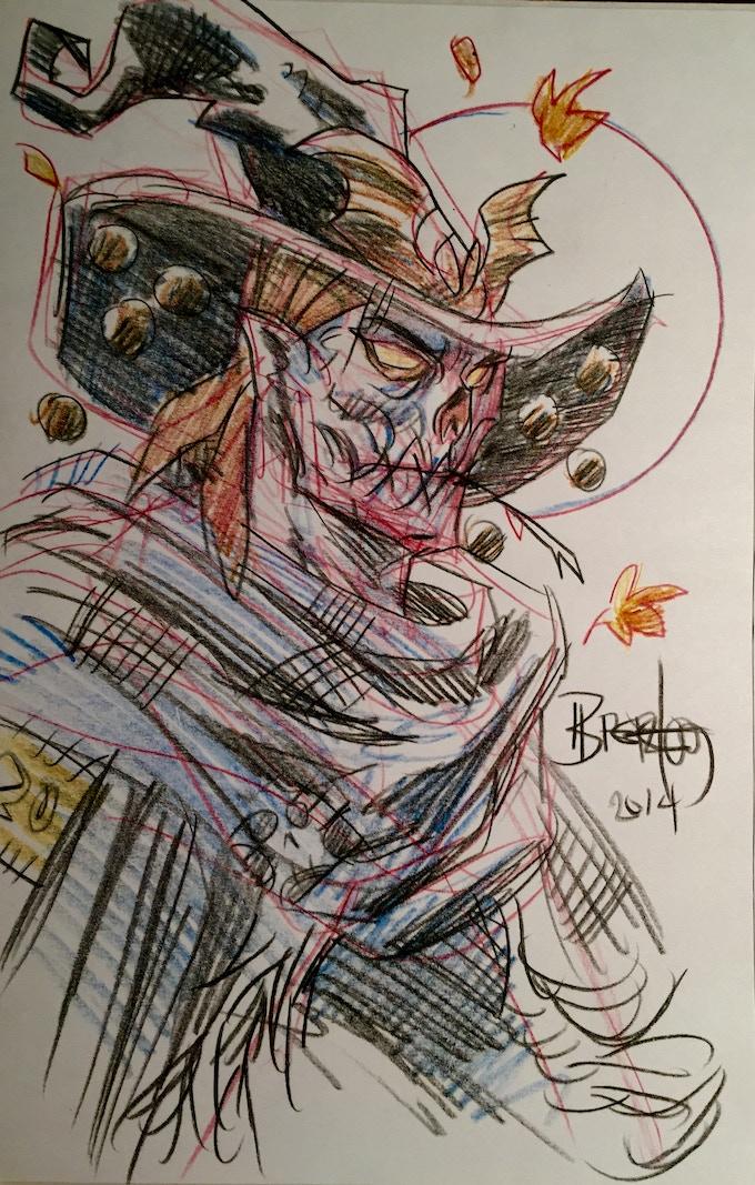 Example of Pencil Sketch #3