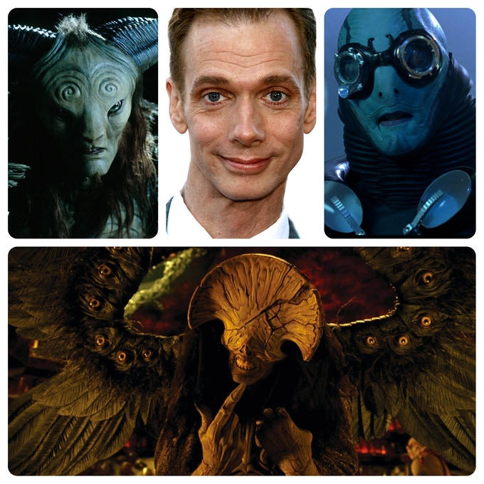 Doug Jones and few of his alter egos...