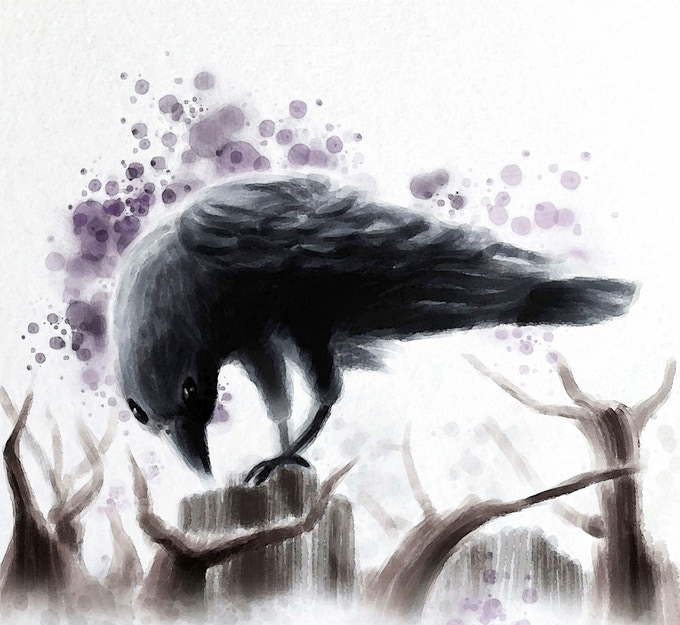 The Raven by David H.L. Burton