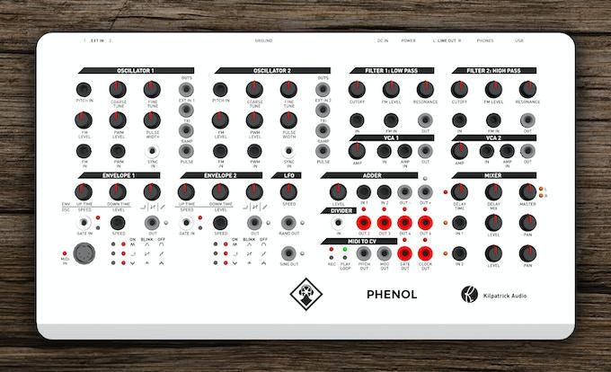 PHENOL New Panel Layout