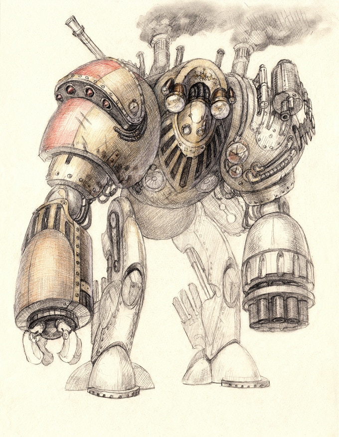 The Steam Mech is one of many powerful Adversaries to be found across Edara