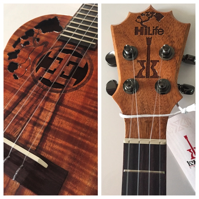 Interested in this custome HiLife Ukulele?? You can find it in our rewards!!