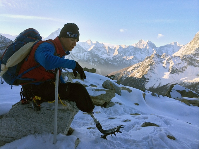 Charlie During the 2014 Expedition to Mt. Everest
