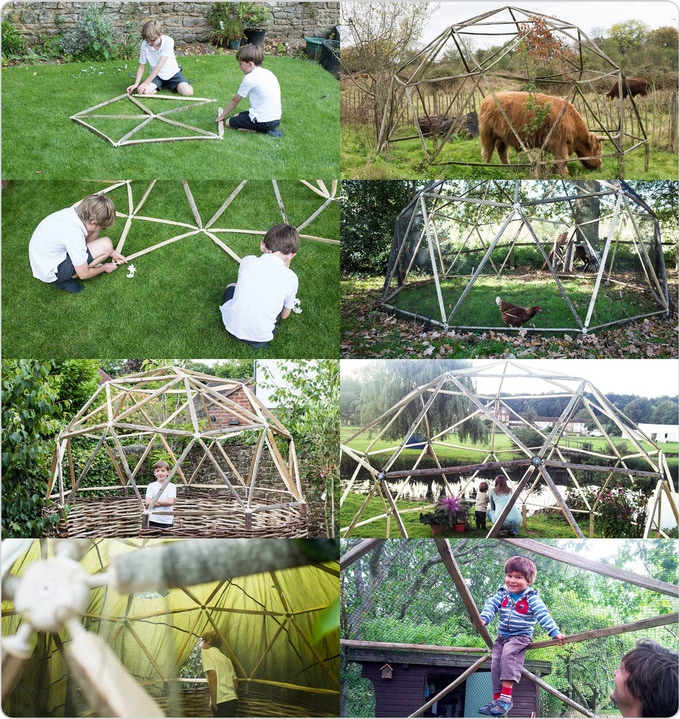 Project Gridless Geodesic Homes: Hubs = Geodesic Domes Made Simple By Chris Jordan And Mike