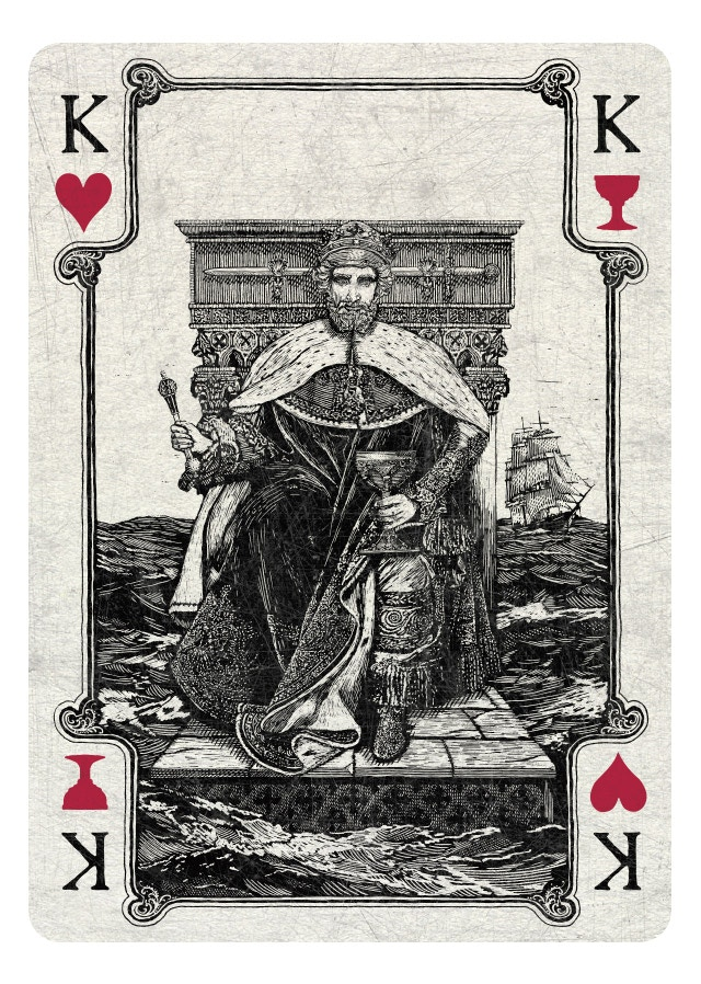 King of Hearts/Cups light