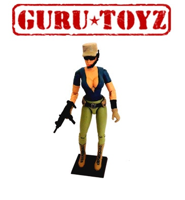 PREORDER Guru Toyz SpyLounge Contractor Action Figure (mip)
