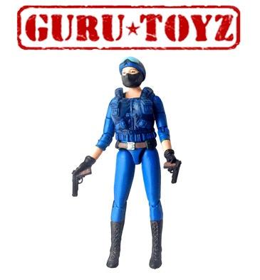 PREORDER Guru Toyz SpyLounge Sub5 Officer Action Figure (mip)