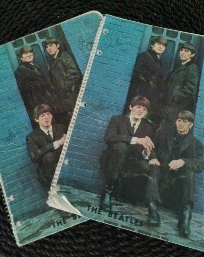 Behold: The RaMbLiNgS notebooks...Paul was my fav Beatle!