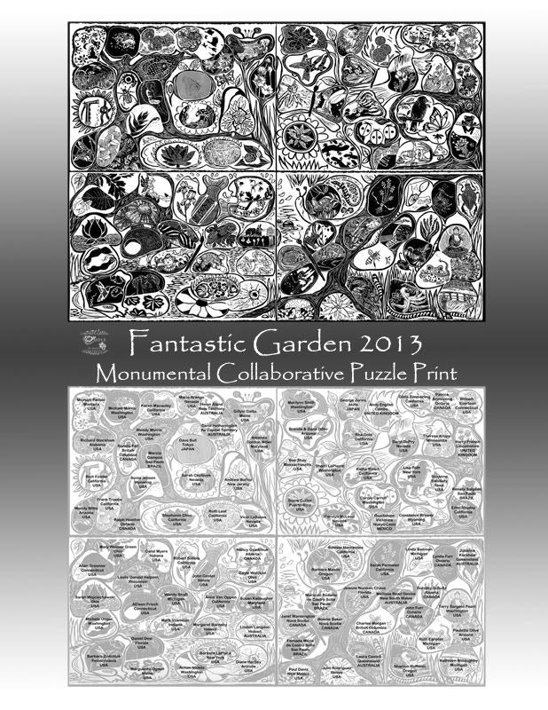 The Fantastic Garden 2013 poster