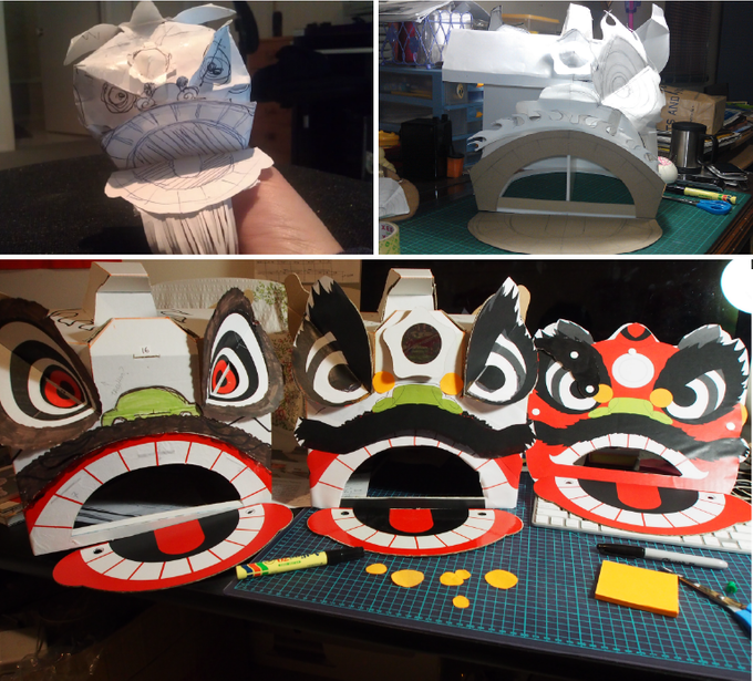 A snapshot of the prototypes we made
