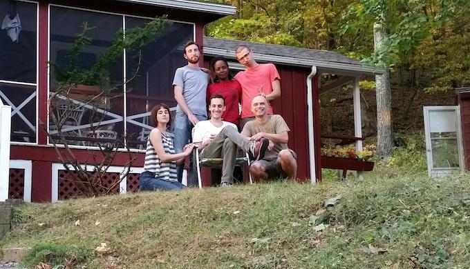 cast + crew: a bunch of ne'er-do-wells