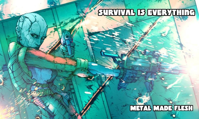 Metal Made Flesh - Survival is Everything