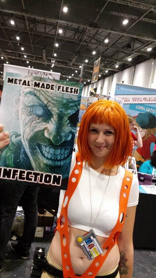 Leeloo and Metal Made Flesh:  Infection