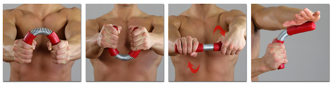 Strengthen your hands, wrists, grips and forearms with the LEGEND ARM