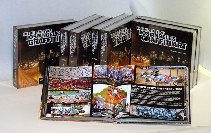 The History of L.A. Graffiti Art - Volume One was published in 2006.
