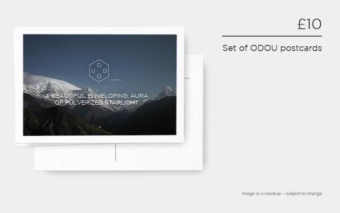 £10 – Set of ODOU postcards