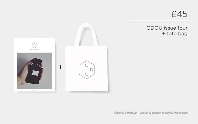 £45 – ODOU issue four + tote bag