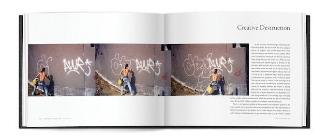 This publication shrives to reflect the history of a city and a movement as much as it showcases the stories of personal expression and outlaw antics on the streets of Los Angeles.