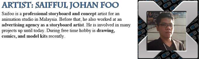 Saifful Johan Foo: Artist Profile