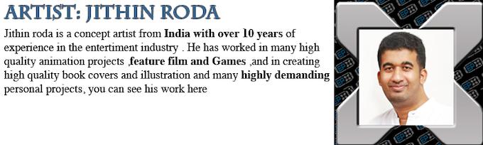 Jithin Roda: Artist Profile