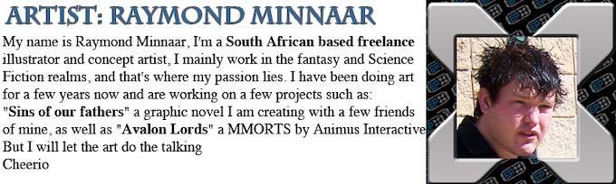 Raymond Minnaar: Artist Profile