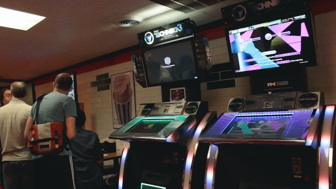 Technika arcade machines
