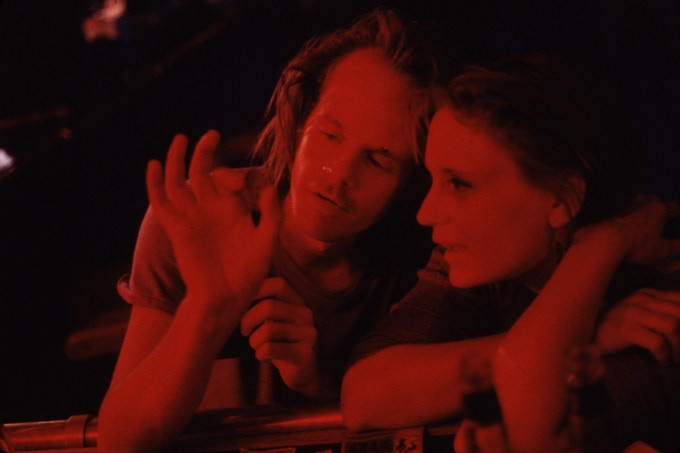 Larry Fessenden and Lisa Bowman in RIVER OF GRASS