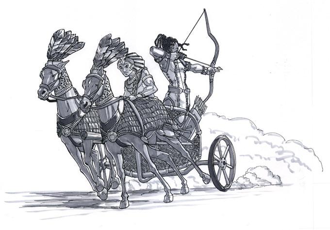 Chariot Chase by Kieron O'Gorman